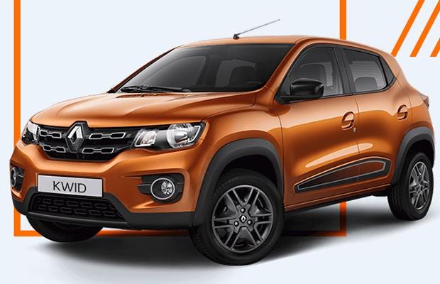 Renault Kwid em versão de produção aparece no site oficial antes da estreia (Foto: Divulgação)
