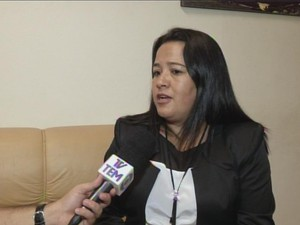 Atual prefeita promete resolver problemas em 30 dias (Foto: Reprodução/TV TEM)