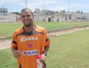 Jairo - Meia do CRB (Foto: Leonardo Freire/Globoesporte.com)