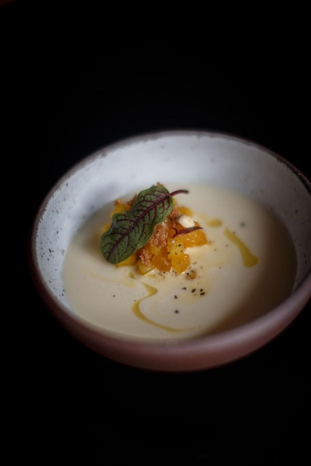 Receita: Sopa fria de amendoim com melão   (Foto: Divulgação)