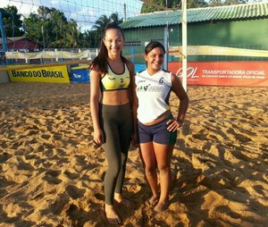 Aysla/Thalissa vão disputar o Circuito Banco do Brasil Sub-19 em Vitória (ES) (Foto: divulgação)