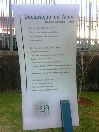 Visita guiada Parque Museu Juiz de Fora 14 (Foto: Roberta Oliveira/G1)