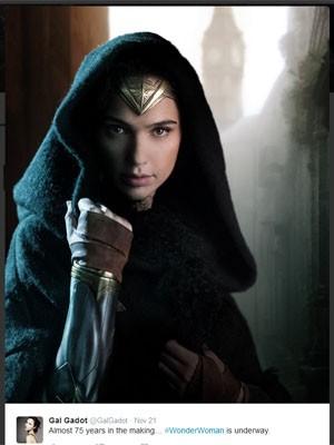 Gal Gadot como protagonista de 'Mulher Maravilha' (Foto: Divulgação)