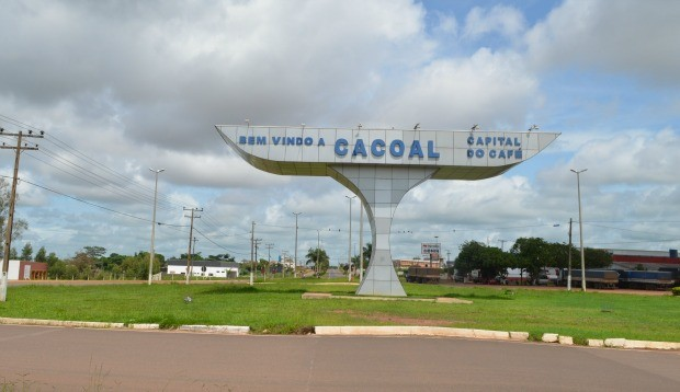 Cacoal completa 36 anos no próximo dia 26 (Foto: Magda Oliveira/G1)