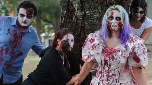 zombie walk (Foto: Everson Bressan/SMCS)