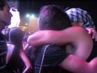Yanna Lavigne e Nando Rodrigues voltam a trocar beijos no Rock in Rio
