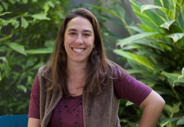 Fernanda Caloi, gerente de programas do Campus São Paulo do Google (Foto: Paulo Liebert/Google/Divulgação)