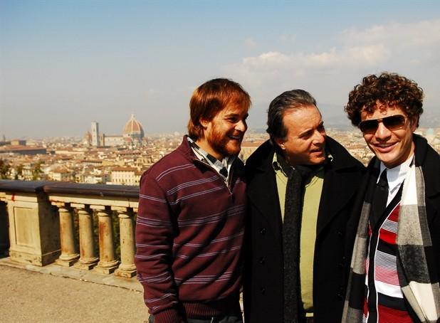 Em 'Passione', Tony Ramos era pai de Adamo (Germano Pereira) e Agnello (Daniel de Oliveira) (Foto: Passione / TV Globo)
