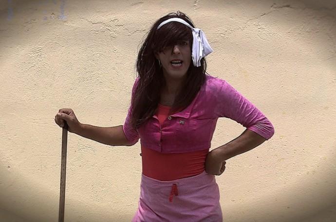 Ritinha se prepara para o Fest Verão Sergipe (Foto: TV Sergipe)