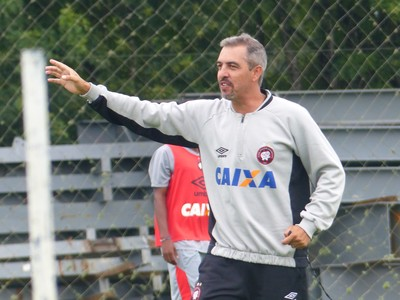 Marcelo Vilhena  Atlético-PR (Foto: Monique Silva)