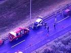 Mulheres se ferem em acidente perto do Presídio Feminino do DF