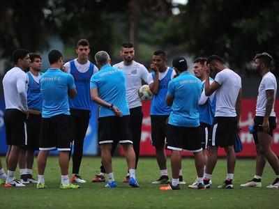 Dorival Júnior - treino do Santos (Foto: Ivan Storti / Divulgação Santos FC)