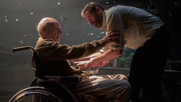 O ator Patrick Stewart em cena de 'Logan' (Foto: Reprodução)