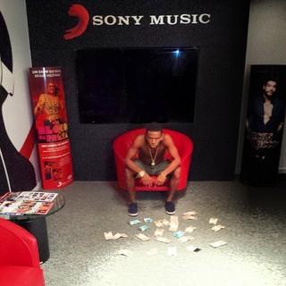 MC Nego do Borel MC assina com a Sony (Foto: Instagram/Reprodução)