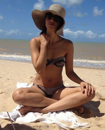 Camila Pitanga é dona de um corpo sequinho (Foto: Reprodução do Instagram)