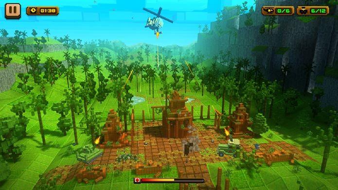Game tem jogabilidade simples que lembra um clássico do Super Nintendo (Foto: Divulgação)