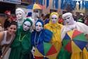 Cores e máscaras nos papangus de Bezerros