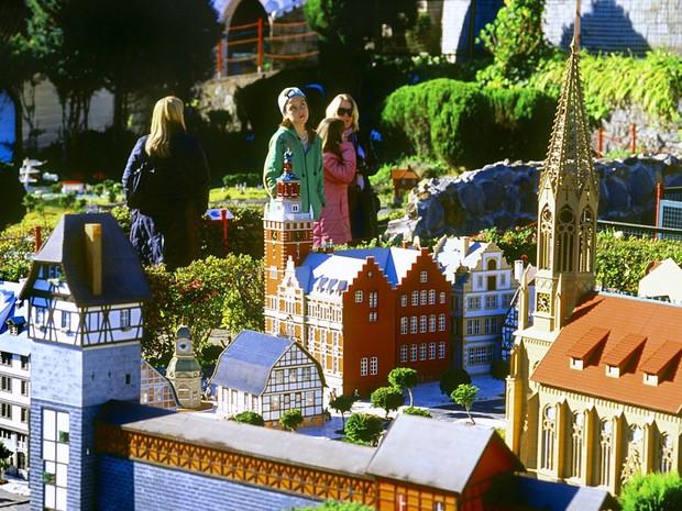 Mini Mundo é atração para crianças e adultos (Foto: Leonid Straliaev/Prefeitura de Gramado)