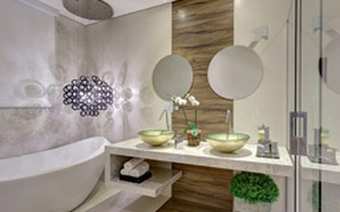 Banheiros decorados: veja modelos modernos e econômicos