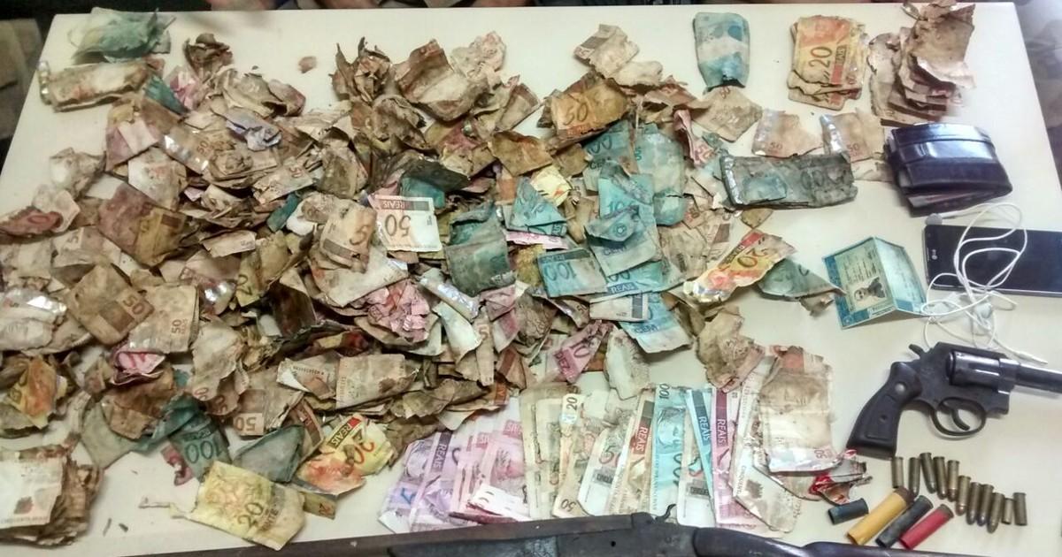Homem é preso após achar saco com R$ 45 mil no Norte de SC - Globo.com