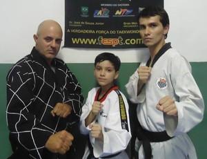 taekwondo; suzano; flávio marques; seletiva; copa do brasil (Foto: Arquivo Pessoal / Alex Marques)