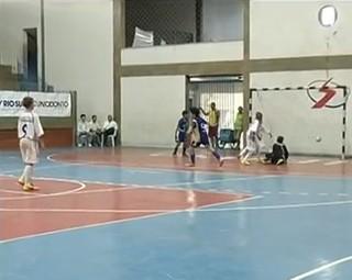 Volta Redonda foi a grande campeã do Festival Dente de Leite de Futsal (Foto: Reprodução RJTV 2ª Edição)