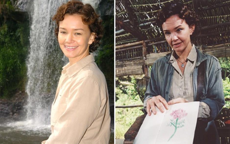 A atriz interpretou a personagem Cleide na novela 'Alma Gêmea' (Foto: CEDOC / TV Globo)