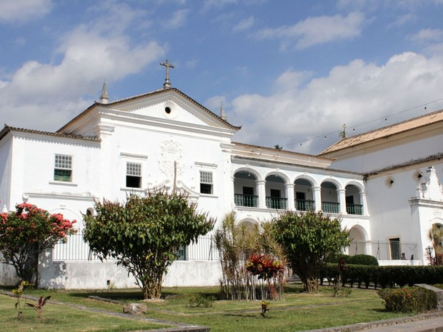 Convento do Carmo em Cachoeira (Foto: Ida Sandes/ G1)