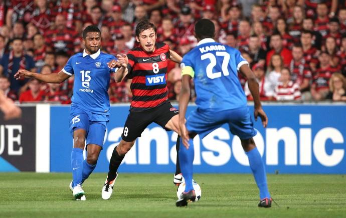 Mateo Poljak, Al Hilal x Western Sydney Wanderers (Foto: Agência AP)