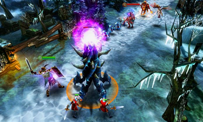 Horoes of Order Chaos é um game de batalhas online para Windows Phone (Foto: Divulgação/Windows Phone Store)