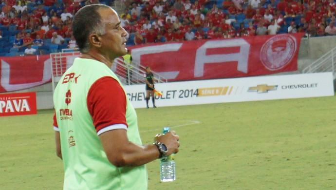 Oliveira Canindé, técnico América-RN (Foto: Augusto Gomes)