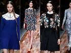 Valentino apresenta coleção ultraromântica com desfile na Semana de Moda de Paris