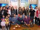 Encontro recebe estrelas da nova Malhação: confira fotos com Arthur Aguiar, Emanuele Araújo e Eriberto Leão