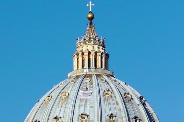 Basílica de São Pedro, no Vaticano (Foto: AP Photo/Andrew Medichini)
