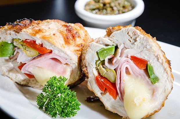 Panplona de pollo, sugestão do restaurante Gonzalo (Foto: Divulgação)