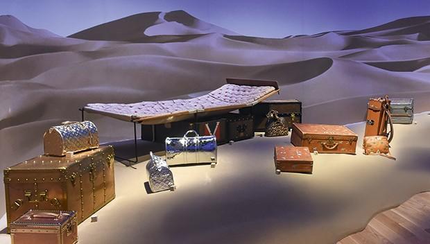 Louis Vuitton - Baús raros do acervo da Maison (Foto: Divulgação)