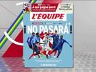 Para França, Argentina é só Messi: 'Não passará', diz jornal francês