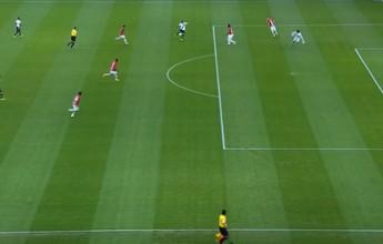 Lance mais bizarro da rodada pertence a Christiano, por isolada contra o Inter