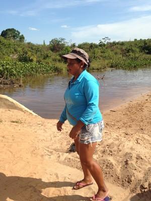 Raimunda Nonata critica quem quem se apega aos benefícios e deixa de produzir riquezas (Foto: Clarissa Carramilo/G1)