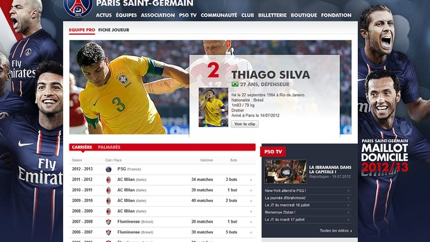 Print thiago Silva (Foto: Reprodu&#231;&#227;o)