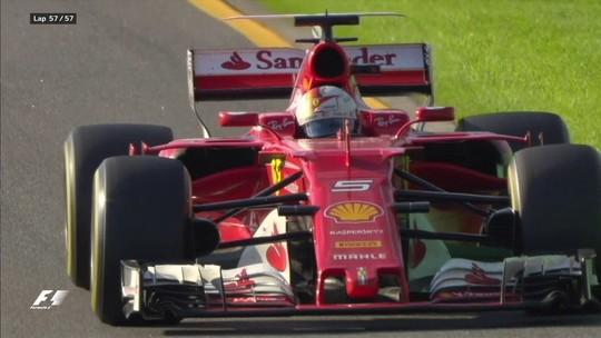 Mercedes? Que nada! Ferrari acerta na estratégia, e Vettel vence o GP da Austrália