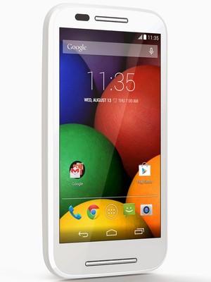 MOTO E: O smartphone de baixo custo custará 529 reais (Foto: Divulgação)