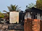 'Não adianta chorar', diz deficiente que sobreviveu a incêndio em Vilhena, RO