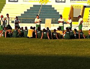 Icasa treinando no Romeirão (Foto: Diego Morais / Globoesporte.com)