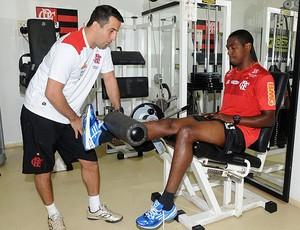 Renato, Flamengo (Foto: Alexandre Vidal / Fla Imagem)