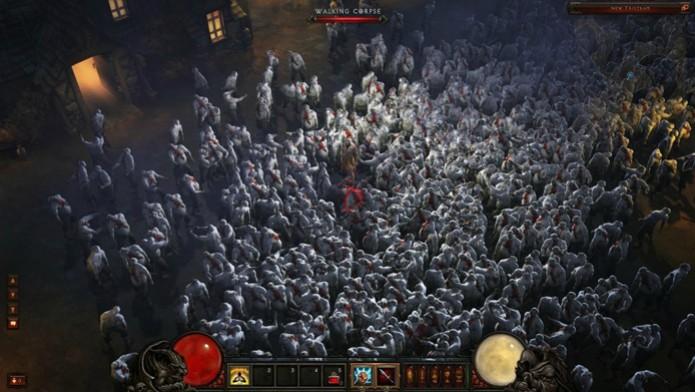 O hardware da nova geração beneficia grandemente Diablo III, que não soluça nem nos momentos mais abarrotados (Foto: Reprodução) (Foto: O hardware da nova geração beneficia grandemente Diablo III, que não soluça nem nos momentos mais abarrotados (Foto: Reprodução))