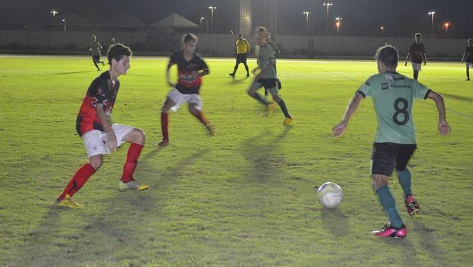 Trem vence o Estrela e está na final do Campeonato Amapaense Sub 15 (Foto: Jonhwene Silva/GE-AP)