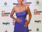 Grávida, Halle Berry exibe barriguinha em première de filme na Argentina
