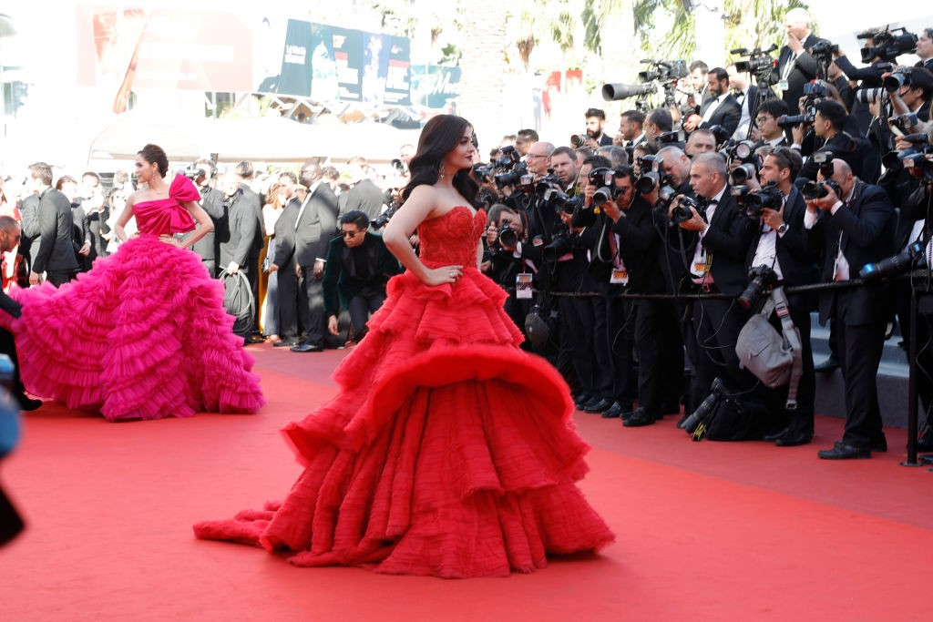 Aishwarya Rai e Araya Hargate (Foto: Getty Images)