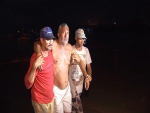 resgate de naufragos (Foto: Reprodução/TV Verdes Mares)